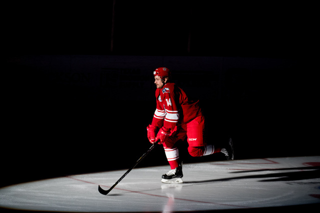 1148b719e53 A Day in the Life of a Professional Hockey Player - Allen Americans ...