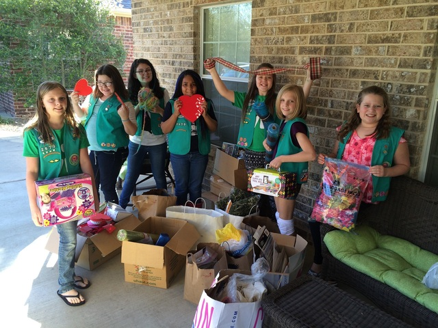 Local Girl Scouts To Work Toward Bronze Award While -2751